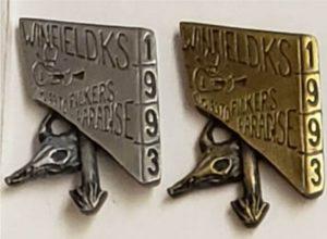 1993 Pewter & Brass Hat Pins