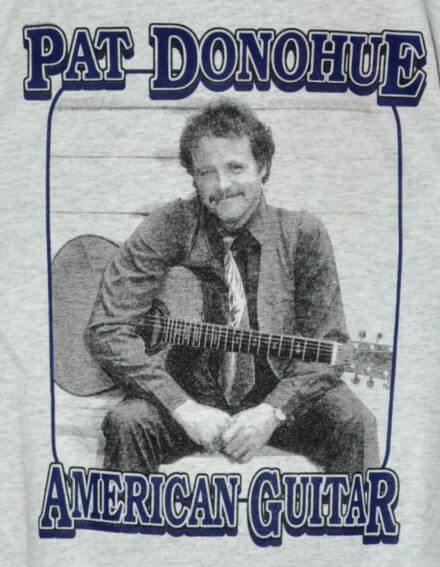 """Pat Donohue, American Guitar"" T-Shirt Front"