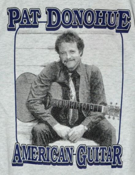 """Pat Donohue, American Guitar"" T-Shirt Front"