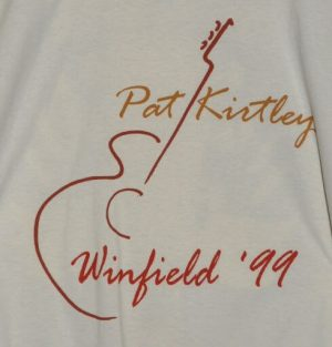"""Pat Kirtley, Winfield '99"" Tshirt Front"