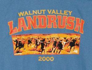 Official 2000 Walunt Valley Festival Landrush T-Shirt