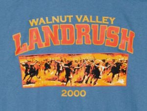 Official 2000 Walunt Valley Festival Landrush T-Shirt