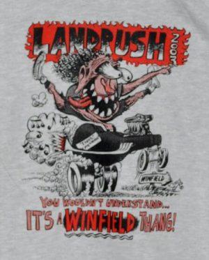 Official 2003 Walnut Valley Festival Landrush T-Shirt