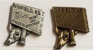 2005 Pewter & Brass Hat Pins