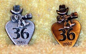 2007 Pewter & Brass Hat Pins