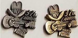 2008 Pewter & Brass Hat Pin