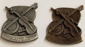 2009 Pewter & Brass Hat Pins