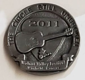 "2011 Hat Pint ""The Circle Be Unbroken, Walnut Valley Festival, Winfield, KS"""