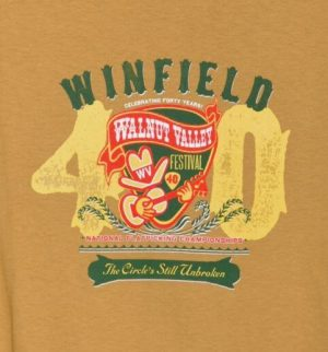 Official 2011 Walnut Valley Festival Worker T-Shirt