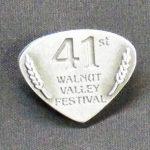 "2012 Hat Pin ""41st Walnut Valley Festival"""
