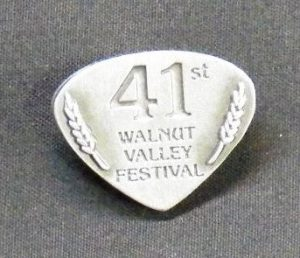 "2012 Hat Pin ""41st Walnut Valley Festival"""