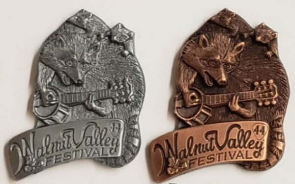 "2015 Hat Pin ""Walnut Valley Festival"""