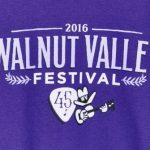 Official 2016 Walnut Valley Festival Worker T-Shirt