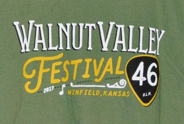 Official 2017 Walnut Valley Festival Worker T-Shirt