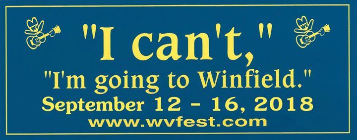 """I can't, I'm going to Winfield"""""""