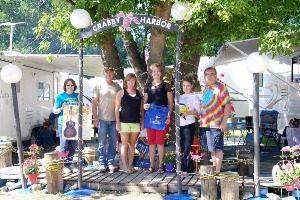 Crabby Harbor Campsite | Walnut Valley Festival