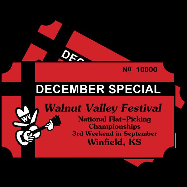 December Special on Full Festival Tickets