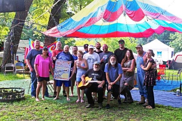 My Grass Is Blue Campsite   Walnut Valley Festival