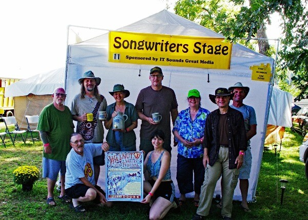 Stage 11, Songwriters Stage | Walnut Valley Festival