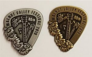 "2019 Hat Pin ""48th Walnut Valley Festival, 2019"""