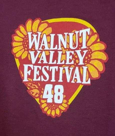 Official 2019 Walnut Valley Festival Worker T-Shirt