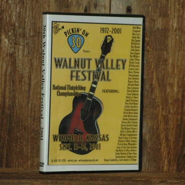 Walnut Valley Festival 30th Anniversary DVD