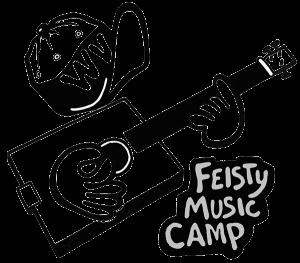 Feisty Music Camp Logo
