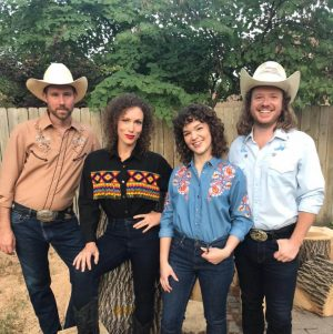 "Members of the band ""Cowtown Country Club"""
