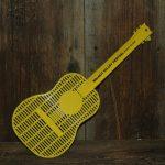 Yellow, Guitar-shaped flyswatter