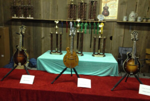 Prize Mandolins at the Walnut Valley Festival