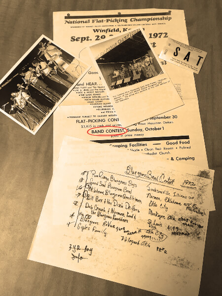 Old Memorabilia from past Battles of the Bands
