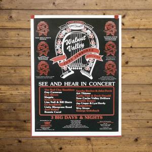 Vintage Festival Poster - 1979