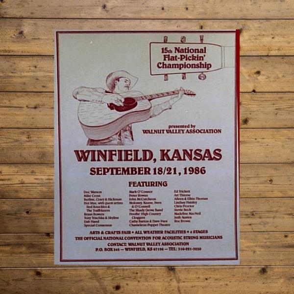 Vintage Festival Poster - 1986