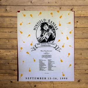 Walnut Valley Festival Poster - 1990