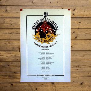 Walnut Valley Festival Poster - 1991