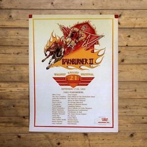 Walnut Valley Festival Poster - 1992