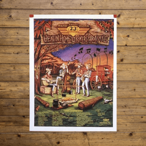 Walnut Valley Festival Poster - 1994