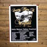 Walnut Valley Festival Poster - 1995