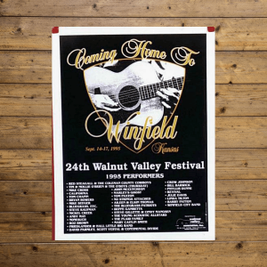 Walnut Valley Festival Poster - 1995