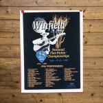 Walnut Valley Festival Poster - 1996