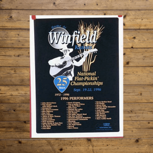 Walnut Valley Festival Poster - 1996