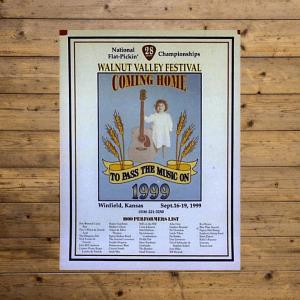 Walnut Valley Festival Poster - 1999