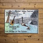 Walnut Valley Festival Poster - 2000