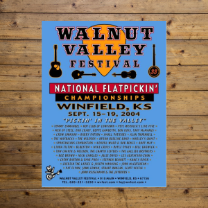 Walnut Valley Festival Poster - 2004
