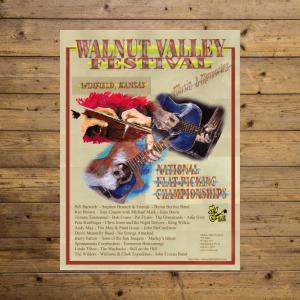 Walnut Valley Festival Poster - 2005