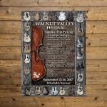 Walnut Valley Festival Poster - 2007