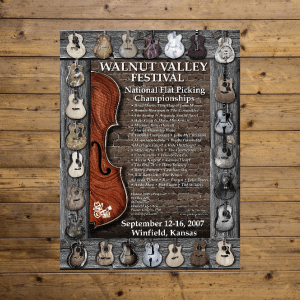 Walnut Valley Festival Poster - 2007