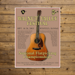 Walnut Valley Festival Poster - 2009