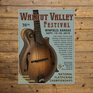 Walnut Valley Festival Poster - 2010