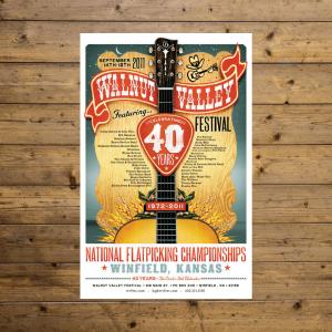 Vintage Festival Poster - 2011